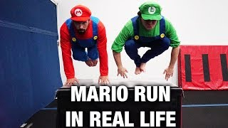 MARIO RUN OBSTACLE COURSE (AT TRAMPOLINE PARK)
