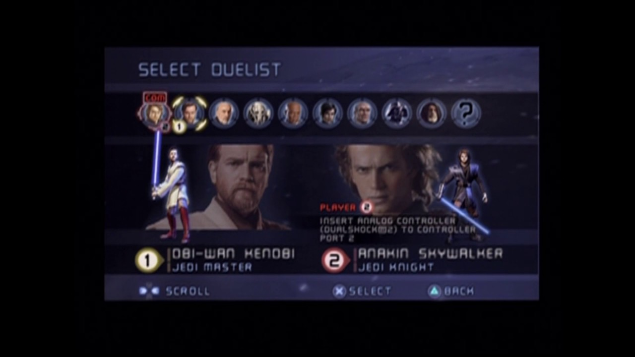 All Alternative Outfits In Versus Mode Star Wars Episode Iii Revenge Of The Sith Video Game Youtube