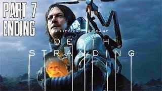 DEATH STRANDING All Cutscenes (Part 7 Ending) Game Movie 1080p HD