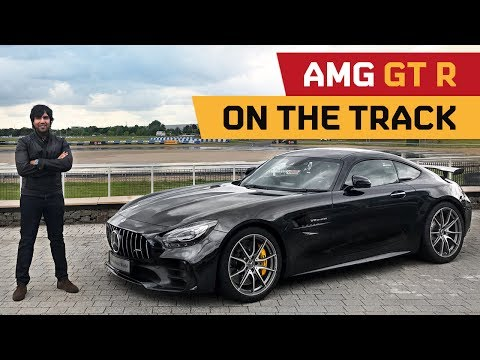 BRUTAL: AMG GT R on Track at MB World UK!