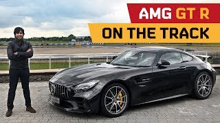 AMG GT R on Track at MB World UK!