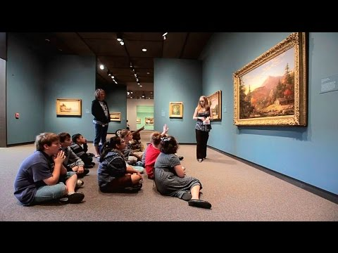 Student Tours at the Amon Carter Museum of American Art