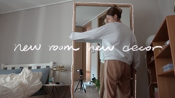 NEW ROOM DECOR 평범한 아파트 내 취향대로 하나씩 채워보기 (계획짜고 가구 언박싱!)   kinda cool
