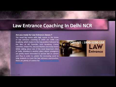 Law Entrance Coaching | Call - 1800-1230-133