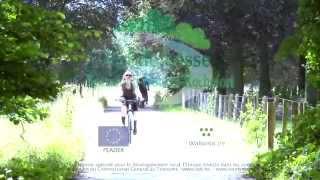 Het RAVeL fiets- en wandelpad tussen Rochefort en Houyet - Lessevallei