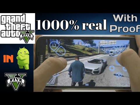 How To Play Gta 5 In Android - 100% Real With Gameplay Proof | All Methods
