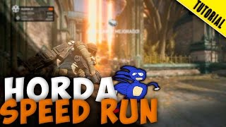 COMO HACER SPEED RUN EN SEGURIDAD - Gears of War 4