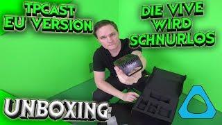 Die Vive wird endlich schnurlos! Unboxing TPCast EU-Version!! [German][HTC Vive][Virtual Reality]
