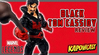 MARVEL LEGENDS BLACK TOM CASSIDY REVIEW | STRONG GUY BAF