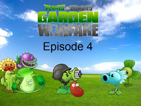 Plants Vs Zombies Garden Warfare Plush Series Episode 4 Peashooter 39 S Abilities Youtube