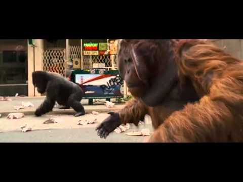 Rise Of The Planet Of The Apes Clip - San Francisco Rampage