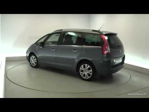 2011 citroen c4 grand picasso exclusive hdi egs youtube. Black Bedroom Furniture Sets. Home Design Ideas
