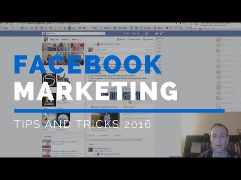 Facebook Marketing Tips 2016 | 1 Secret but Powerful Facebook Marketing Tip