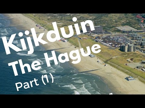 Kijkduin, The Hague (Den Haag), The Netherlands (1/5) Seaside resort Tour (4K)