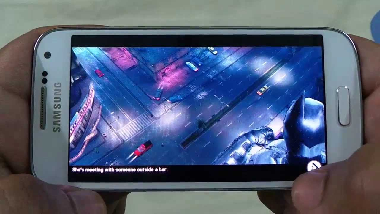 BEST GRAPHICS GAMES ON SAMSUNG GALAXY S4 MINI REVIEW 1