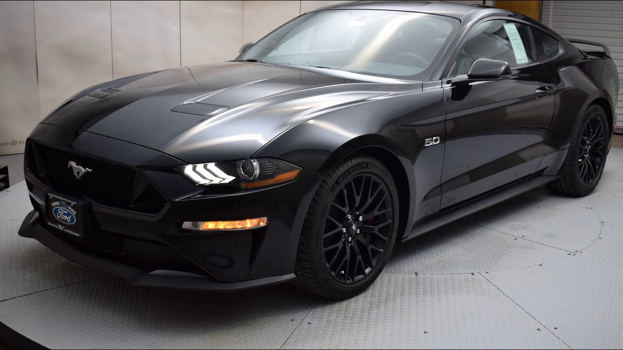 2018 shadow black ford mustang 2d coupe 6833