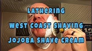 Lathering - WCS Jojoba Shave Cream