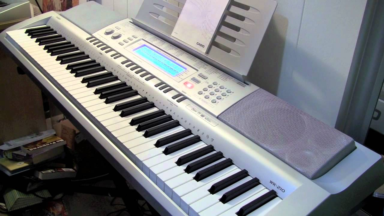 casio wk 210 review and demo youtube