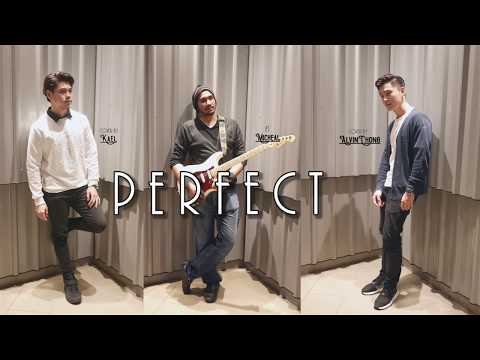 Perfect - Ed Sheeran ( Cover by Alvin Chong & Kael )