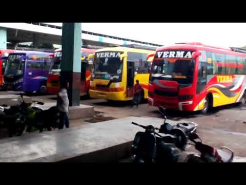 Bhopal, ISBT, Bus Station, Bus Stand of Bhopal