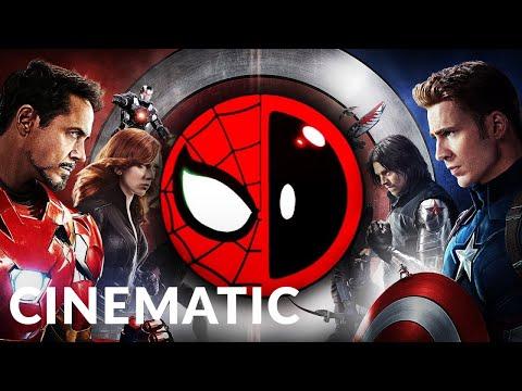 Captain America: Civil War | Deadpool & Spider-Man vs. Team Cap | Epic Cinematic | Epic Music VN
