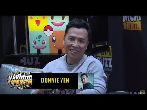 Donnie Yen Interview @MCM London May 2017