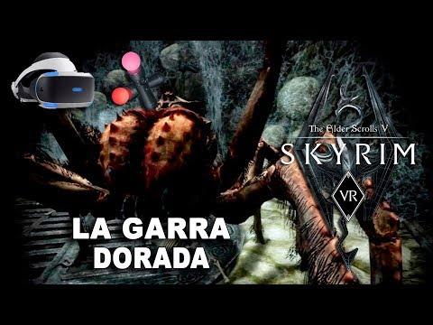 SKYRIM VR La garra dorada VR_JUEGOS