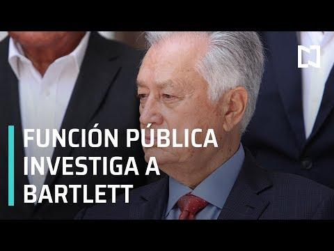 Función Pública investiga a Manuel Bartlett - Despierta