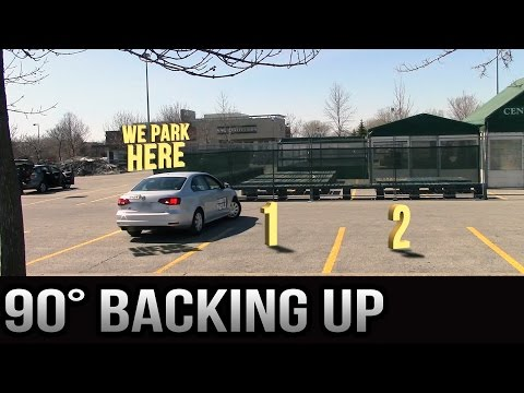 Easy Parking 90 degrees Backing Up - Version 2.0