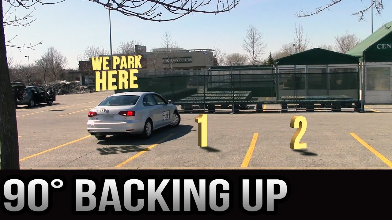 Easy Parking 90 Degrees Backing Up Version 20