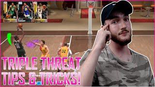 HOW TO WIN TRIPLE THREAT 99.99% OF THE TIME!!! NBA 2K19 MYTEAM TIPS u0026 TRICKS!!! (NBA 2K19 MYTEAM)
