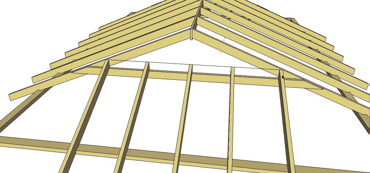 Dutch Gable Roof Method 1 - YouTube
