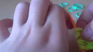 видеоурок как плести ананас из резинок только крючок
