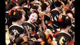京都の花街で芸舞妓らが「始業式」
