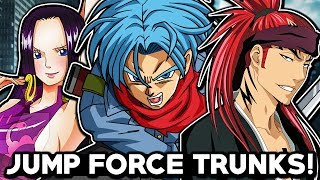 TRUNKS IS COMING TO JUMP FORCE! Jump Force Trunks, Renji Abarai, & Boa Hancock Character LEAK!