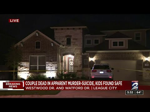 2 young children rescued after murder-suicide in League City