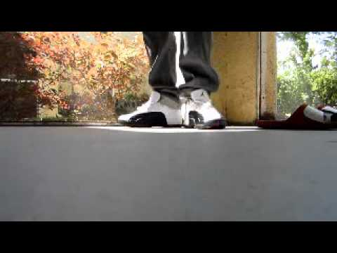 more photos a7ba9 cc0a7 Nike Air Max Griffey 2 and Air Jordan 12 Taxi Low On Feets!!!!! - YouTube