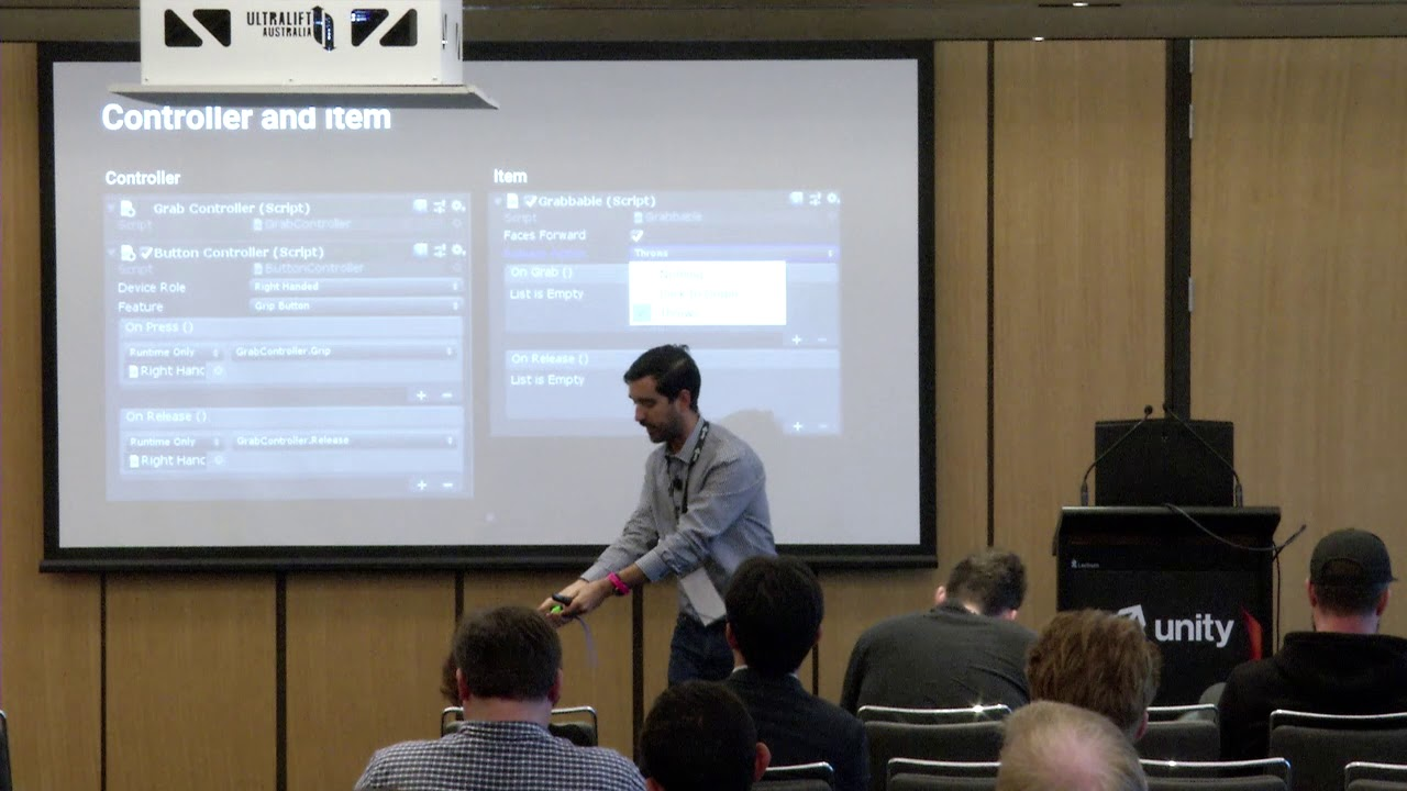 Unite Sydney Workshop – VR Controller Interactions with the