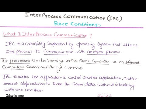 17- Race Condition in operating system in hindi | Interprocess Communication