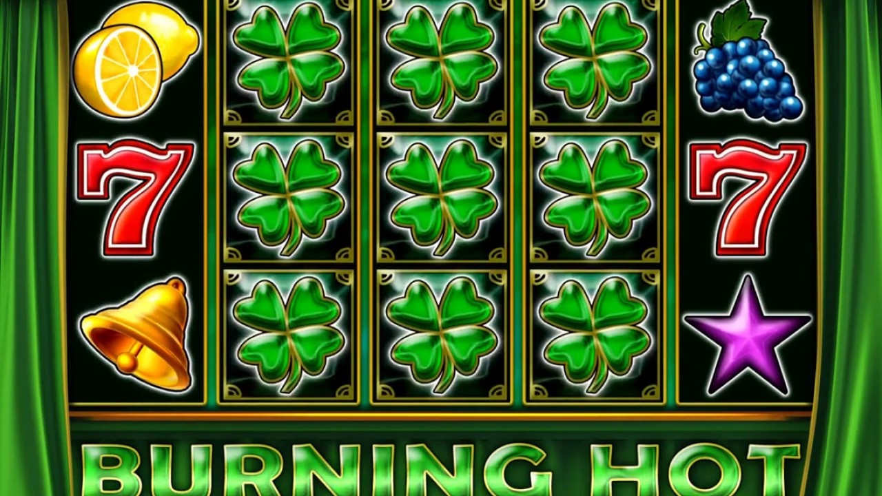Slot online burning hot