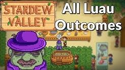 Stardew Valley - All Luau Responses (Best Ingredients to Worst)