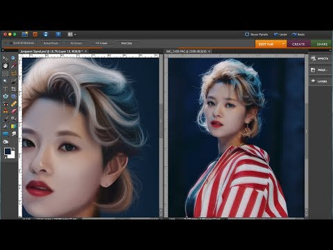 Jungyeon Signal - Twice Speedpaint