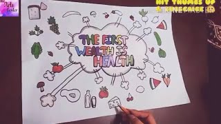 ➡️learn how to make healthy food card!! easy step by step...way while having fun and building skills & confidence. ➡️you can learn color with markers,...