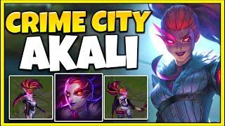 Crime City Nightmare Akali is FINALLY HERE!! *46 KILLS*