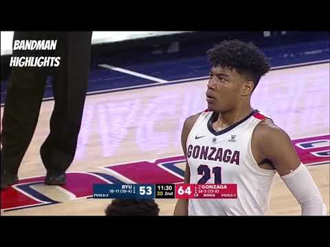 Nick Camino - Gonzaga (a school of 5,209 students) is No. 1 in college hoops