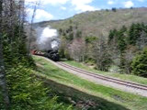 Steam Whistle Cass scenic railroad