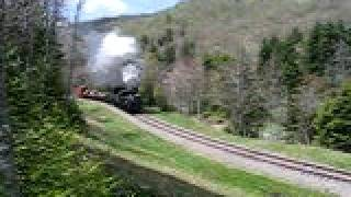 Steam Whistle Cass scenic railroad