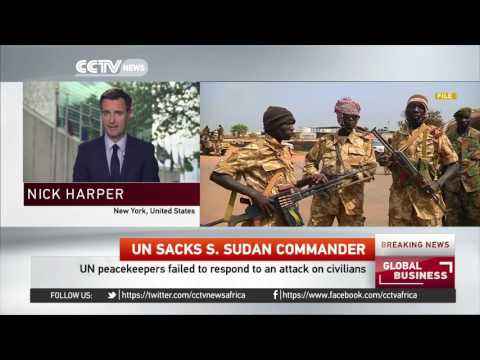 United Nations sacks peacekeeping mission commander in South Sudan
