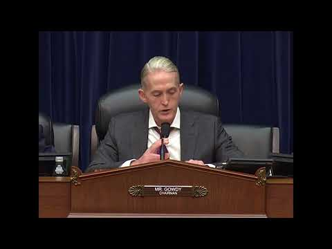 Chairman Gowdy Opening Statement - Oversight of the Bureau of Prisons and Inmate Reentry