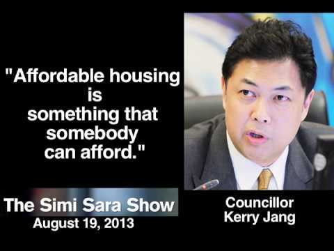 Councillor Kerry Jang on Affordable Housing Definition